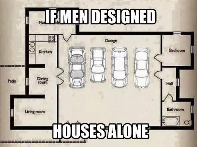 Men Designing Houses